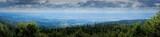 Hirschenstein 2018-5   Aussicht Panorama vom Gipfel des Hirschensteins auf den Gäuboden