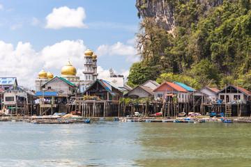 THAILAND, PHUKET, 2018 - Ko Panyi Gipsy village on water
