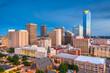 Leinwanddruck Bild - Oklahoma City, Oklahoma, USA Skyline