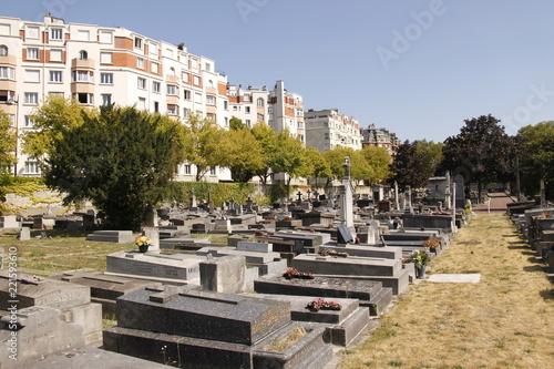 Fridge magnet Paris - Cimetière de Montrouge