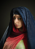 Eastern young woman with traditional outfit - 221602200