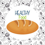 delicious bread healthy food - 221605619