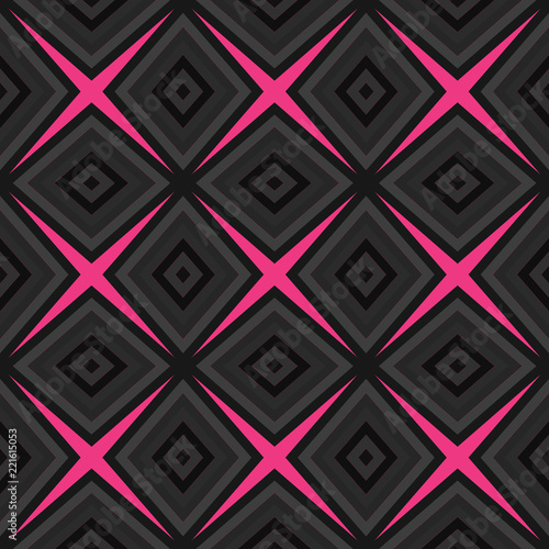 Seamless pattern background from a variety of multicolored squares. - 221615053