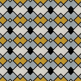Fabric print. Geometric pattern in repeat. Seamless background, mosaic ornament, ethnic style. - 221633637