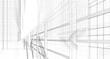 concept architecture 3d illustration