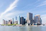 Panoramic view of Lower Manhattan, New York City, USA. - 221641244
