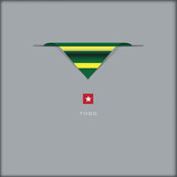 National flag Togo - 221645875