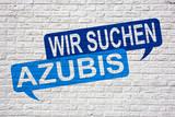 Wir suchen Azubis - Jobsuche und Bewerbung Graffiti