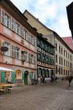 Bamberg, Abenddämmerung, Altstadt, People - 221665656