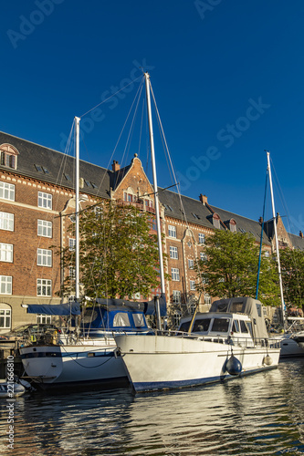 mata magnetyczna Canal in Copenhagen, Denmark