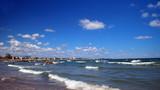 Veduta di Rimini dalla spiaggia - 221667674
