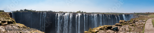 Foto Murales Victoria Falls from the Zimbabwe side