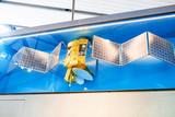 satellite at museum exhibition - 221671406