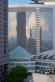 Sonnenaufgang Frankfurt Architectur