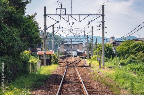 ローカル駅の風景