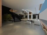 3d render of luxury hotel lobby entrance - 221697061
