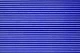 Corrugated blue metal surface - 221706673