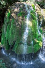 Top view of the Bigar waterfall, Romania