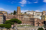 View on Trajan's Forum in Rome