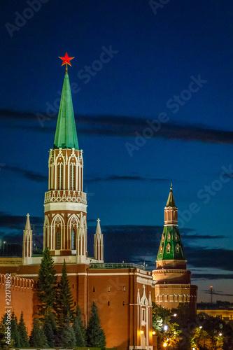 kremlin moscow tower