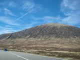 Mountains landscape, Highlands in Scotland - 221735268