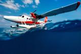 Seaplane on water - 221739627