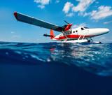 Seaplane on water - 221739676