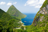 Iconic view of Piton mountains - 221742006