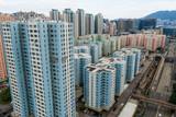 Hong Kong downtown city - 221785606