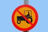 interdit aux tracteurs - 221793094