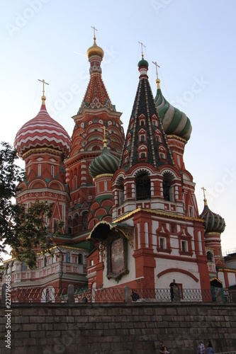 The Cathedral Of The Intercession Of The Blessed Virgin Mary (St. Basil's Cathedral)