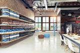 modern boutique interior - 221801829