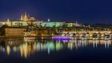 Cityscape of Prague - Czech Republic - 221802607