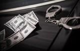 Illegal Money Crime Concept - 221803698
