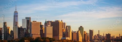 Foto Murales Panoramic Photo of New York