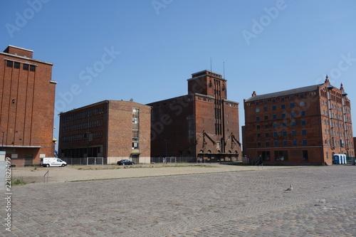 Foto Murales Hafen von Wismar