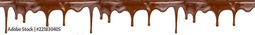 chocolate seamless pattern isolated with clipping path included
