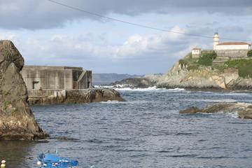 Entrada Puerto Cudillero