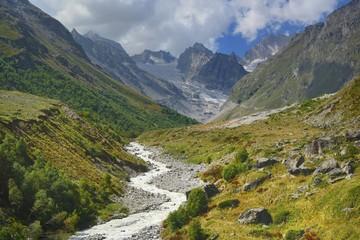 Caucasus in the beginning of autumn