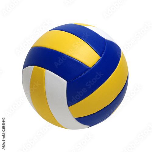 Fototapeta Volleyball ball isolated on white