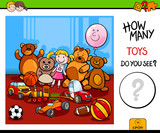 counting toys educational game for children - 221855265