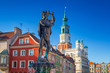 Architecture of the Main Square in Poznan, Poland. - 221882857