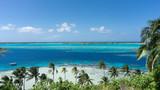 Bora Bora Blue Lagoon And Clear Sky, French Polynesia - 221890242