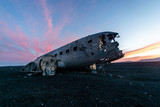 Flugzeugwrack, Solheimasandur, Island - 221890804