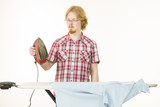 Man about to do ironing - 221892603