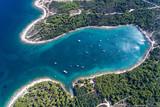 Kroatien, Istrien, Pula, Kap Kamenjak, Luftaufnahme