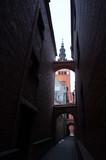 narrow street Elblag downtown - 221902498