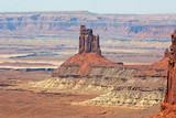 Pinnacle in Canyonlands NP - Utah