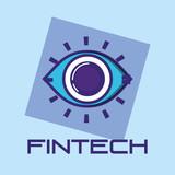 security eye fintech icon - 221911225