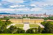 Leinwanddruck Bild - Schönbrunn Palace, Vienna, Austria
